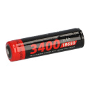 XCell Li-Ion 3,7V 3400mAh PCM Zelle 4/3 FA protected, for...