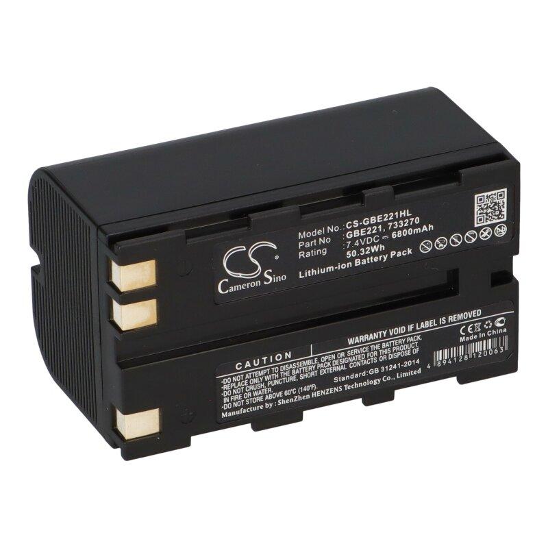 Batterie 6800mAh type 724117 772806 GBE221 GEB221 Pour Geomax ZT80+