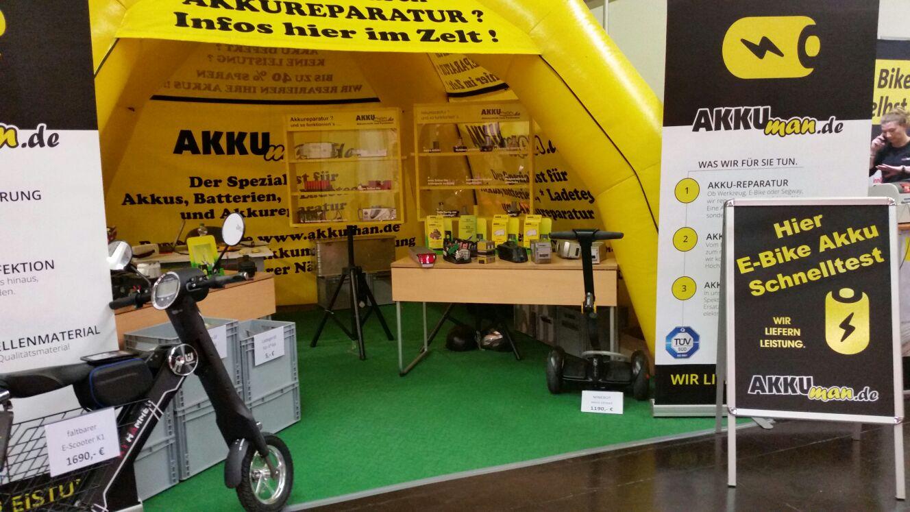Akku-Reparatur E-Bike und Pedelec Akkuman.de