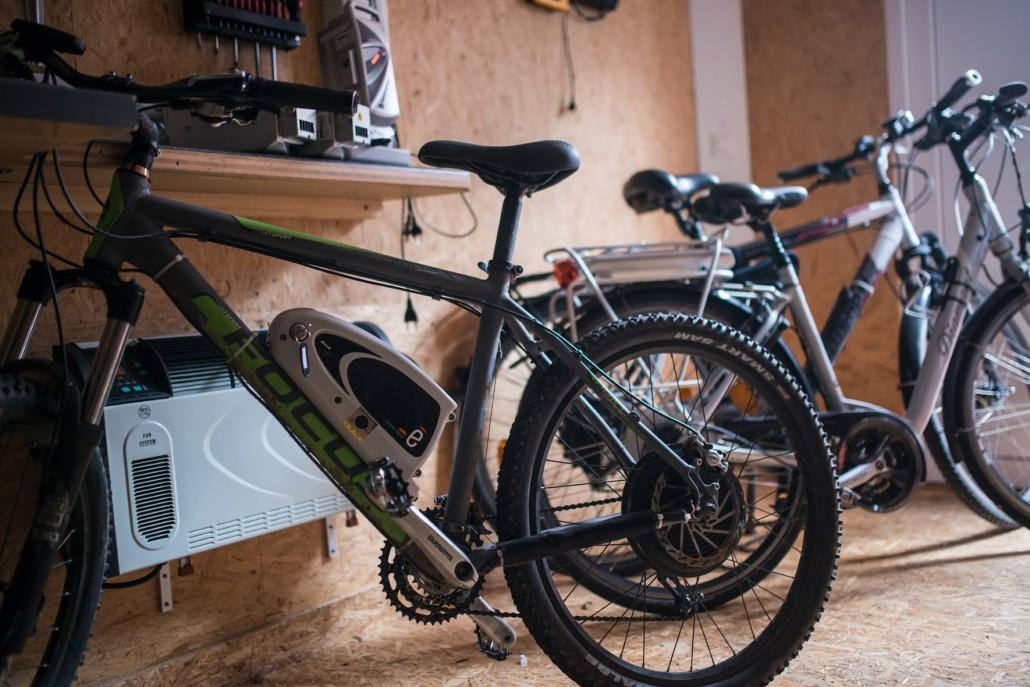 e bike in herbst und winter bereit f r den j hrlichen. Black Bedroom Furniture Sets. Home Design Ideas