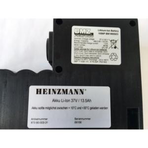 Heinzmann E-Bike Antriebssystem Ersatzakku